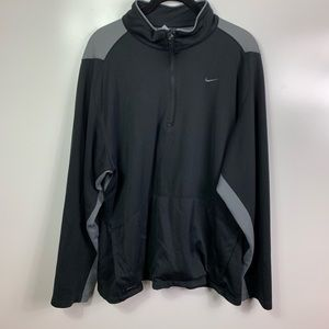 Nikes sphere dry pullover shirt women's xl black